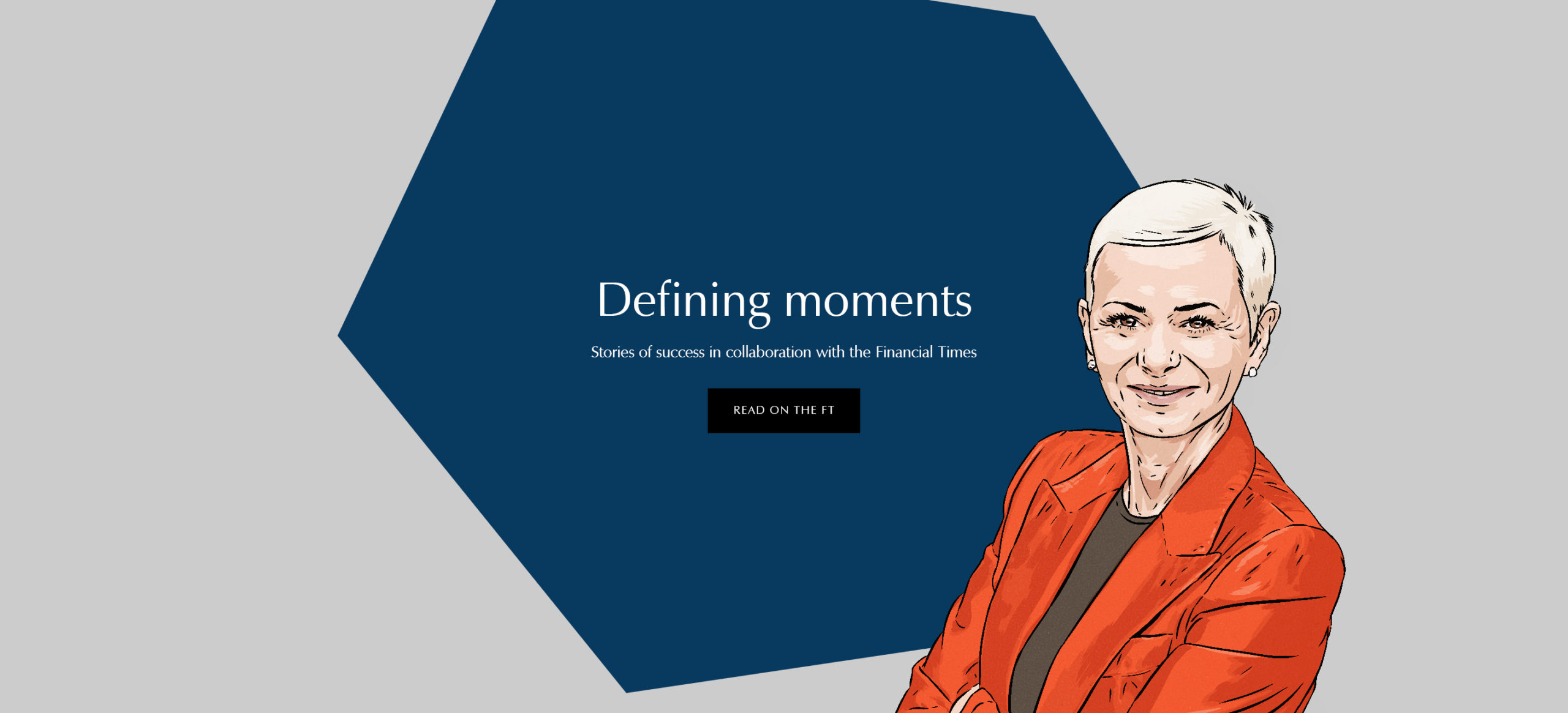 Financial Times Feature – Defining Moments